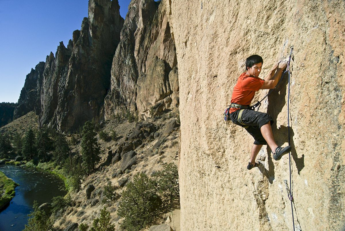 Smith Rock Rock Climbing