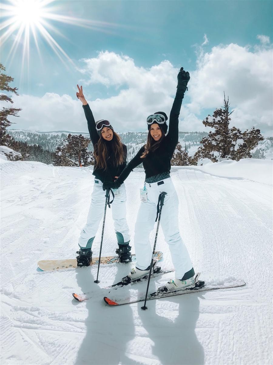 Skiing and snowboarding at Mt. Bachelor Ski Resort with Ikon Pass Lodging