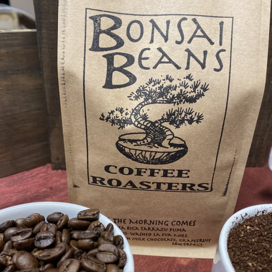 Bonsai Coffee bag of beans - Bend Oregon welcome gift