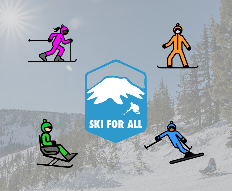 ski for all event logo